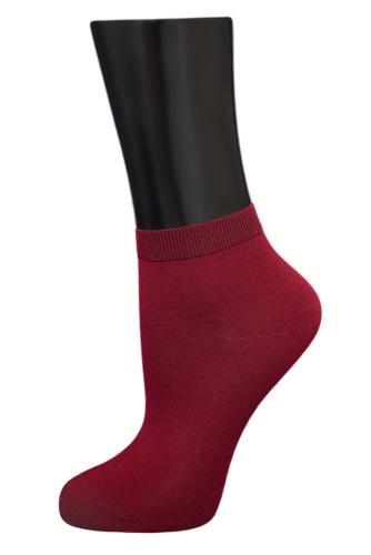 #24619 Женские носки Бордовый