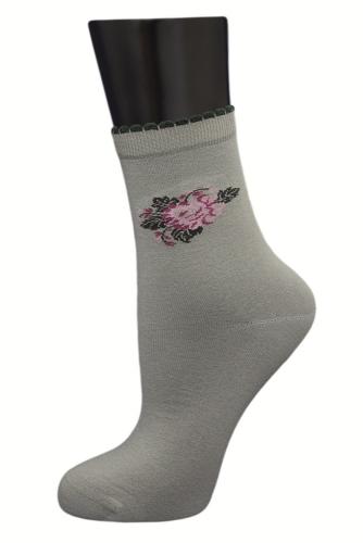 #24858 Женские носки Оливковый