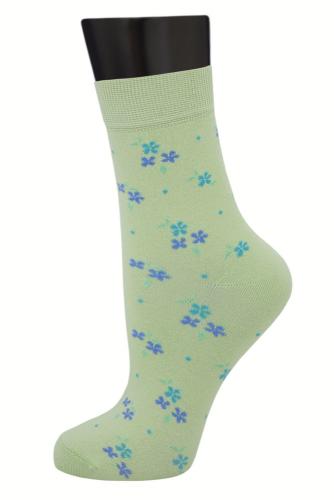 #24665 Женские носки Светло-салатовый