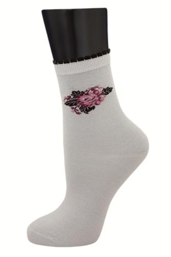 #24855 Женские носки Серый