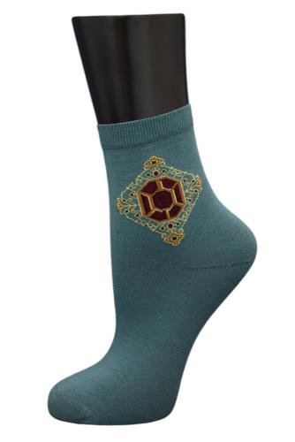 #24848 Женские носки Бирюзовый