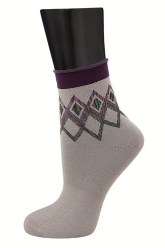 #24801 Женские носки Серый