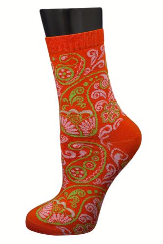 #24839 Женские носки Оранжевый