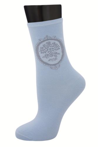 #24986 Женские носки Голубой