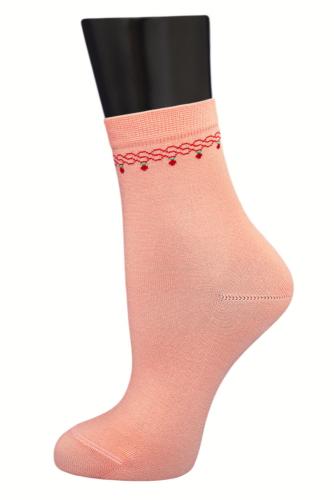 #24946 Женские носки Персиковый