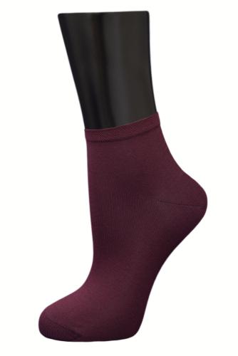 #24779 Женские носки Бордовый