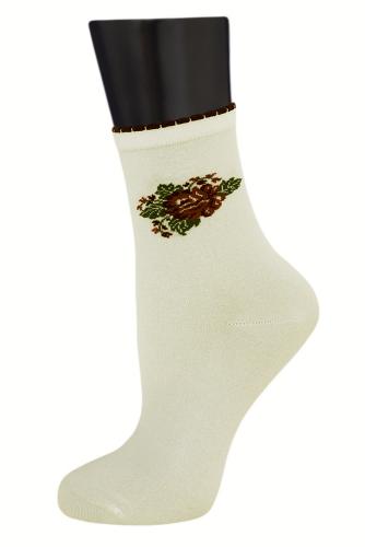 #24852 Женские носки Кремовый