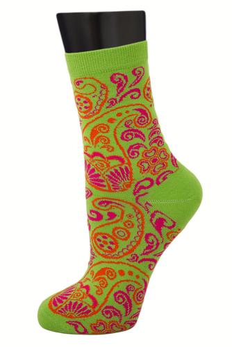#24841 Женские носки Салатовый