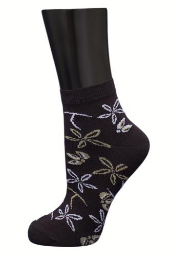 #24967 Женские носки Коричневый