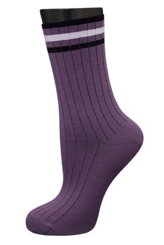 #24823 Женские носки Сиреневый