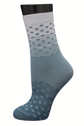 #25008 Женские носки Бирюзовый