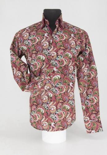 Мужская рубашка 219-5-m22s-psred