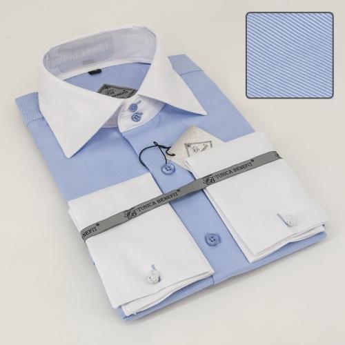 Мужская рубашка 210-4-mz12s-02lbu