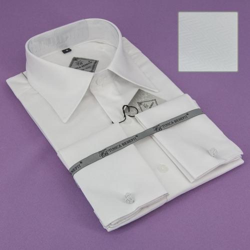 Мужская рубашка 230-1-mz11n-14wht
