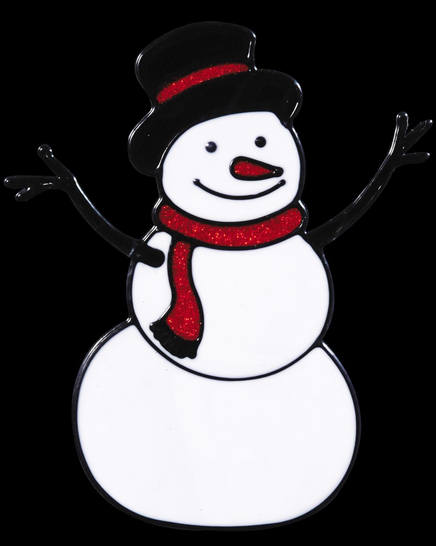 Картинки снеговики на окно
