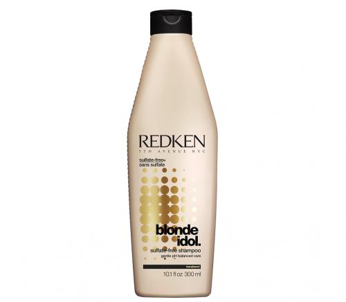 Redken Blonde Idol Shampoo - Бессульфатный шампунь, восстанавливающий баланс pH, созданный специально для волос блонд