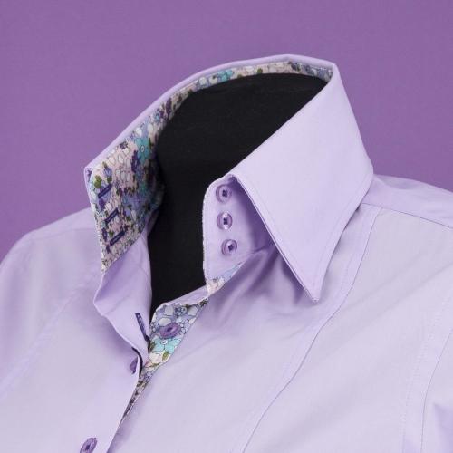 Женская блузка  305-4-w13f-pur1