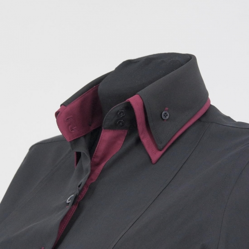 Женская блузка 310-4-wz22s-tblk