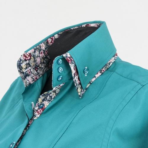 Женская блузка  304-6-w23f-gre3