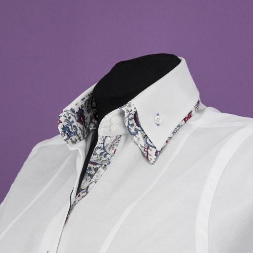 Женская блузка 309-1-w22f-owht