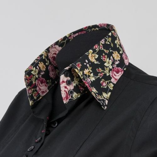 Женская блузка  308-3-wz13f-sblk