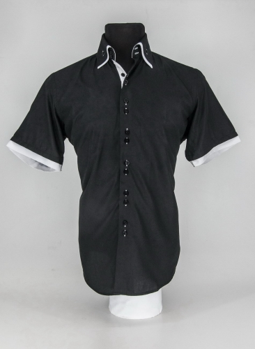 Мужская рубашка 220-2-ms22s-tblk