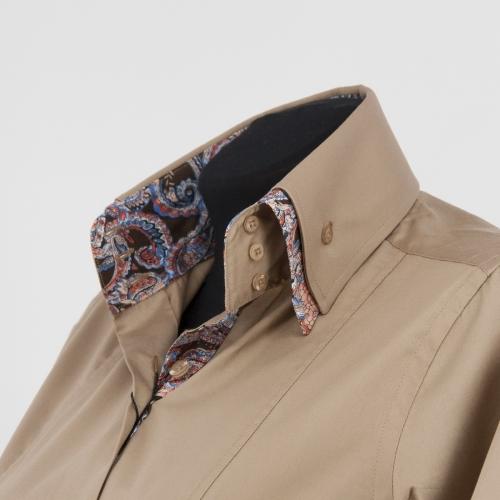 Женская блузка  304-28-w23f-slbrn