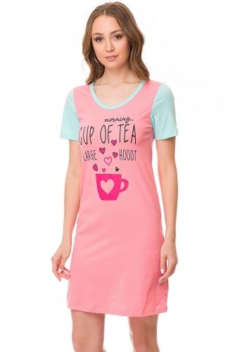 Платье #82162Лососевый