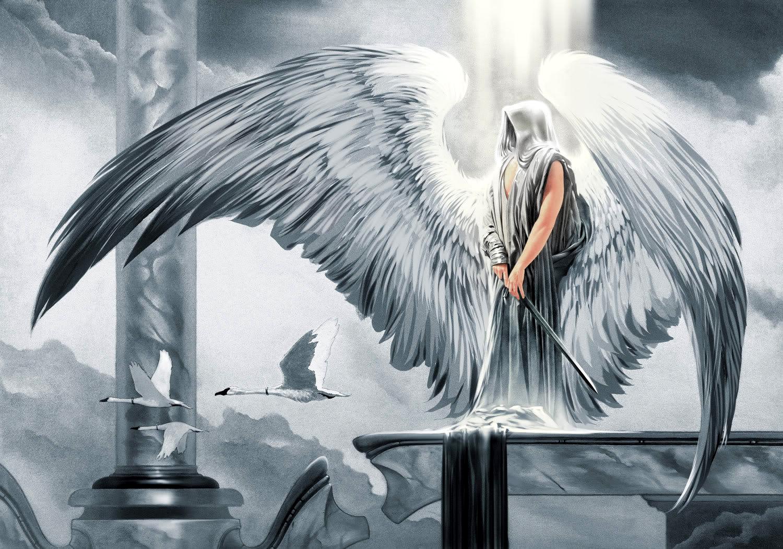 ангел седой картинки чего крепость практически
