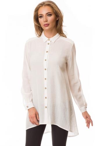 Блуза #78544Молоко