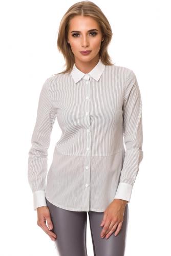 Рубашка #77450Серый
