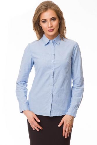 Рубашка #79976Голубой