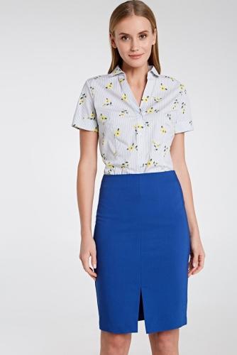 Блуза #79528Светло-серый