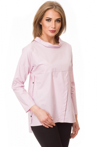 Блузка #80393Розовый