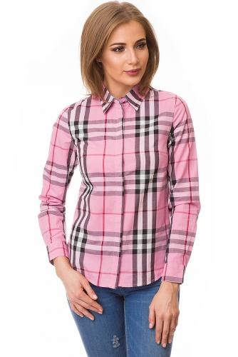 Рубашка #80058Розовый