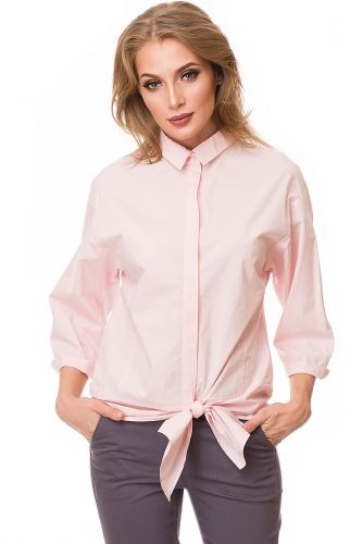 Блуза #81594Светло-розовый