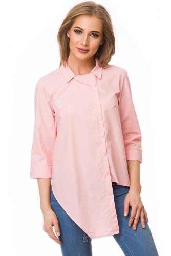Рубашка #80060Розовый