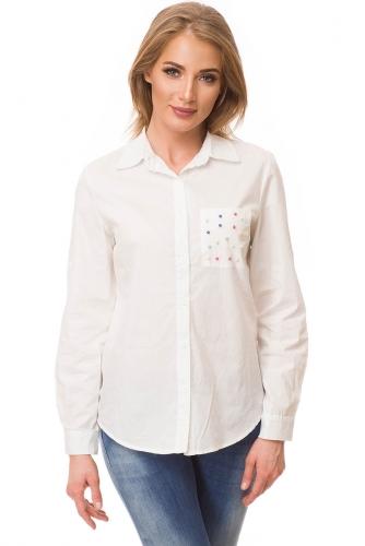 Рубашка #80956Белый
