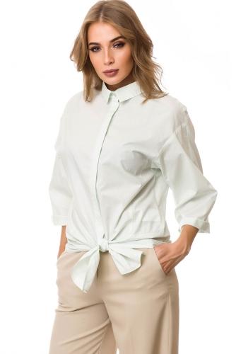 Блуза #76543Светлая мята