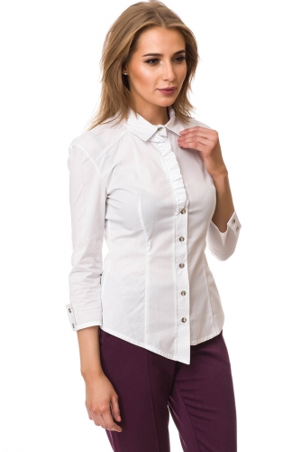 Рубашка #77430Белый