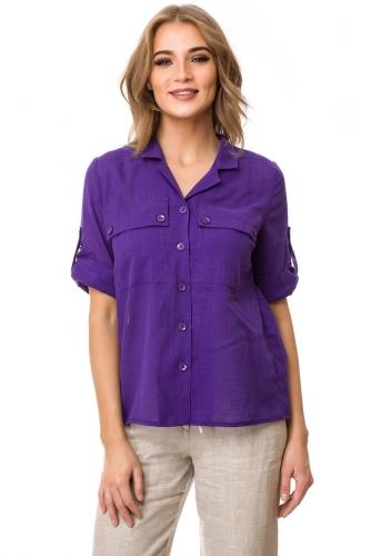 Блуза #76542Фиолетовый