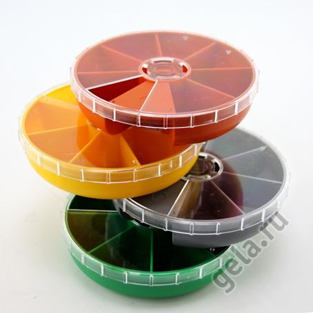 Органайзер для хранения фурнитуры, тип 1107, 7 ячеек