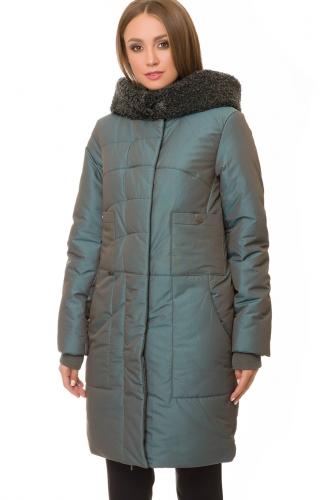 Утепленное пальто #67206