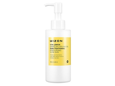 Пилинг гель с экстрактом лимона  Mizon Vita Lemon Sparkling Peeling Gel 150г