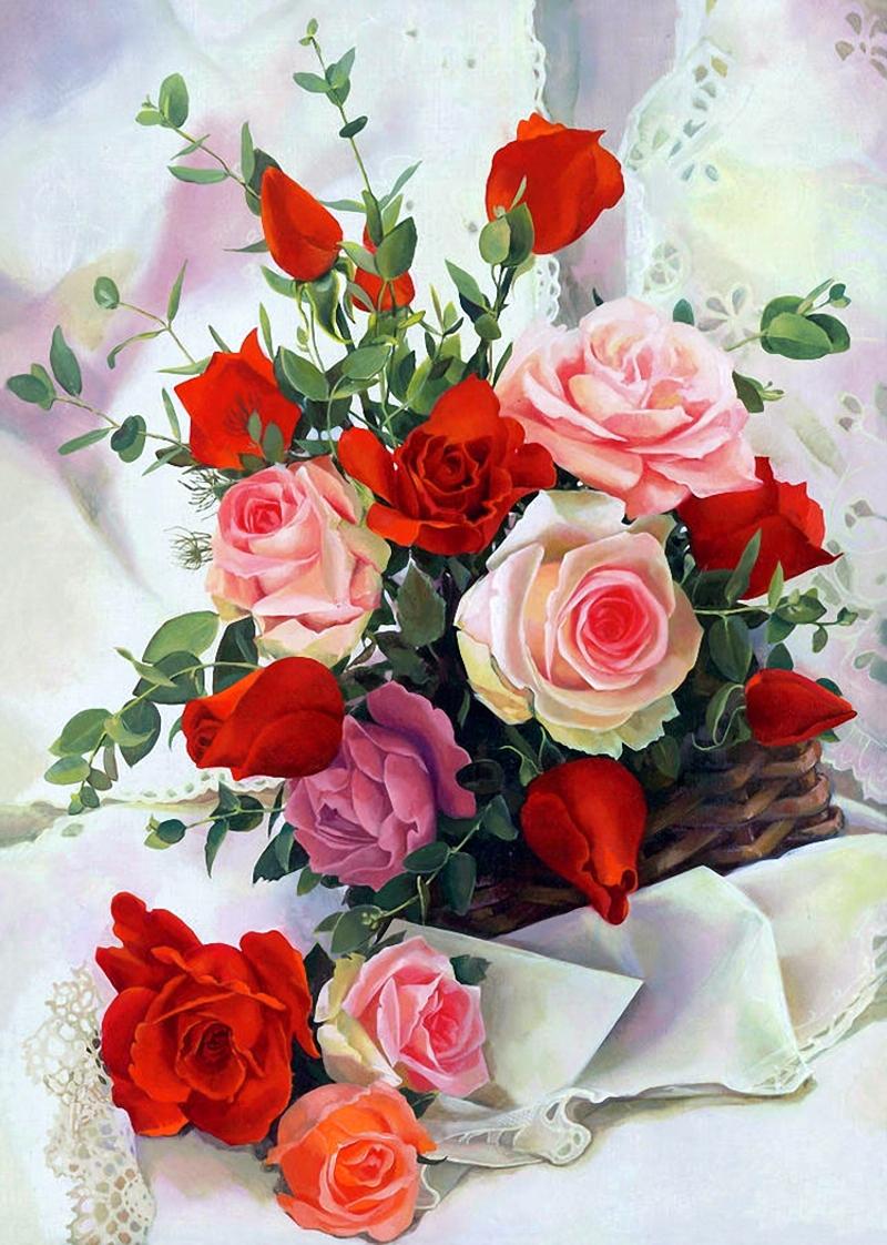 Картинка цветы красивые для открытки
