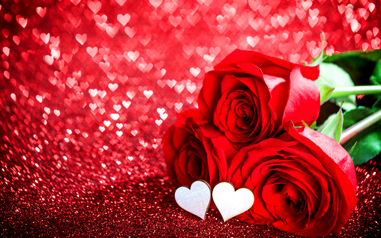 Картинки с сердечком и розами, день рождения сестры