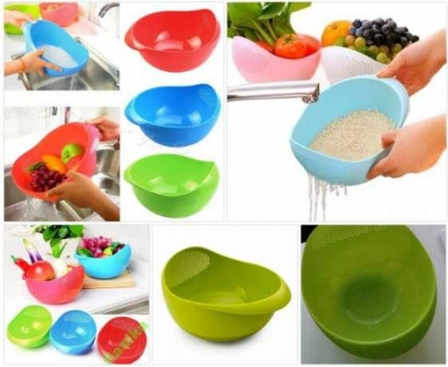 Миска для мойки риса и других круп, овощей, фруктов, ягод. 9046205