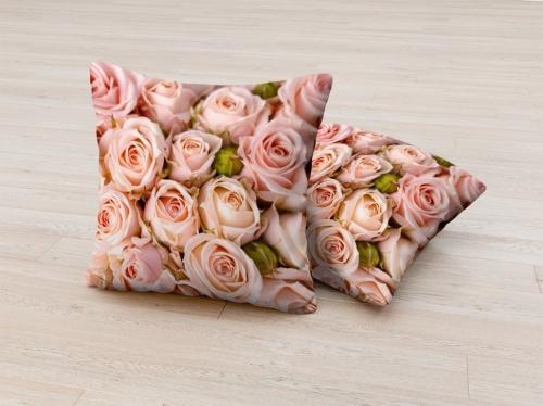 Фотоподушка Бутоны роз
