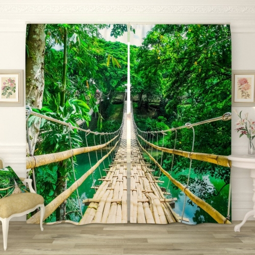 Фотошторы Бамбуковый мост
