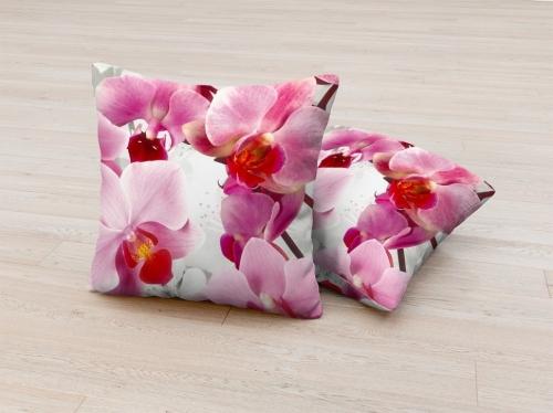 Фотоподушка Ветви орхидей